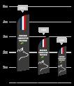 drapeau publicitaire boucherie charcuterie traiteur