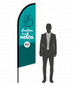 drapeau flamme location de vélos