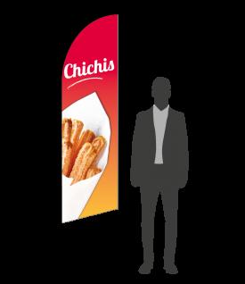 drapeau flamme chichis