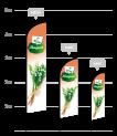 drapeau publicitaire vente de muguet
