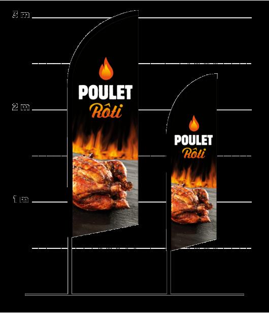 beachflag poulet roti